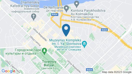 Medical Hotel & Spa Map