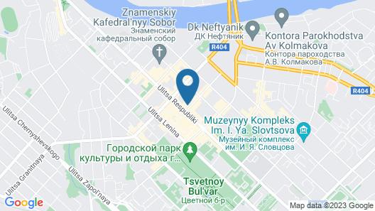 President Hotel Tyumen Center Map