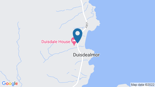 Duisdale House Hotel Map