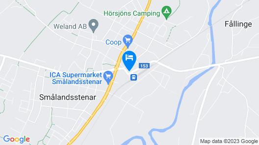 Smålandsstenar hotell Map