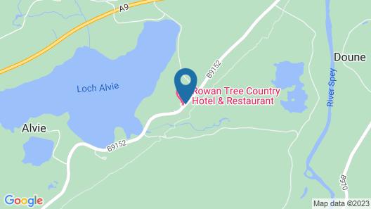 Rowan Tree Country Hotel Map