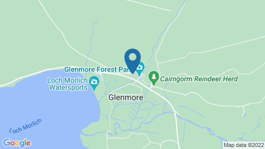 Cairngorm Lodge Youth Hostel Map