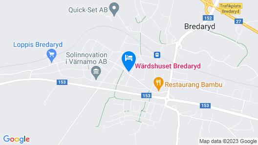 Wärdshuset Bredaryd Map
