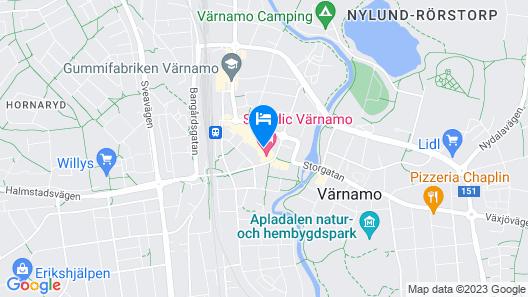 Scandic Värnamo Map