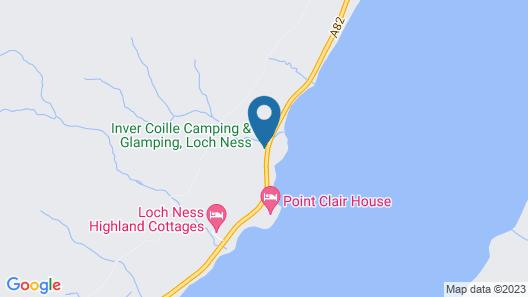 Inver Coille Campsite Map