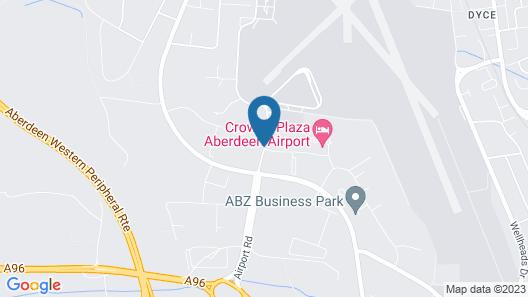 Jurys Inn Aberdeen Airport Map