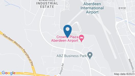 Leonardo Inn Aberdeen Airport Map