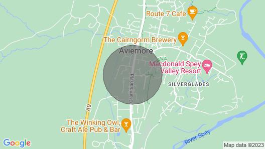 Glencanisp Map