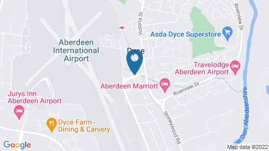 Aberdeen Airport Dyce Hotel, Sure Hotel Collection by BW Map