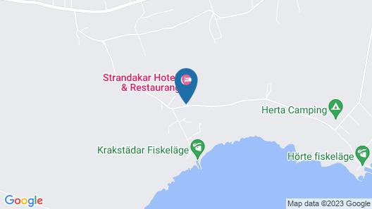 Strandakar Hotell & Restaurang Map