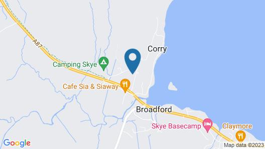 Broadford Lodges Skye Map