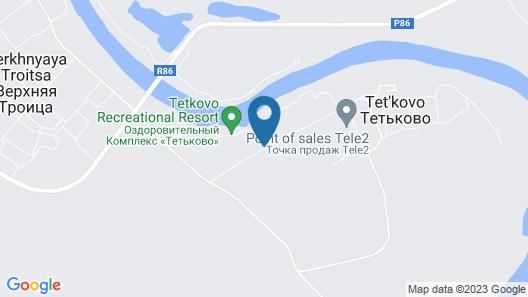 Tetkovo Recreational Resort Map