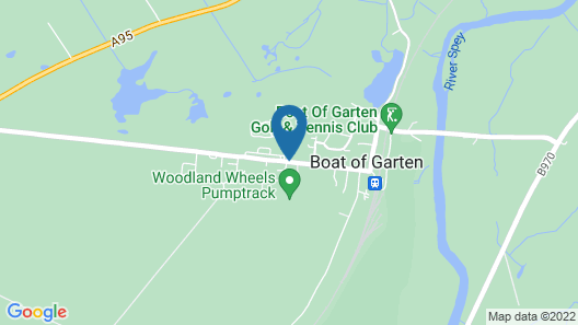 Innovative Apartment in Boat of Garden Near Abernethy Forest Map