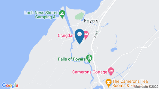 Foyers Bay Country House Map