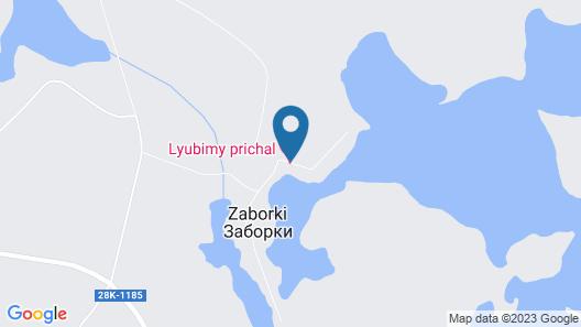 Lyubimy prichal Map