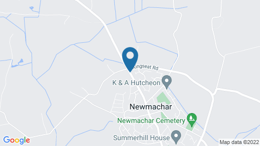 The Newmachar Hotel Map