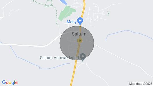 1 bedroom accommodation in Saltum Map