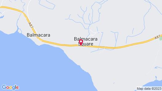 Balmacara Hotel Map