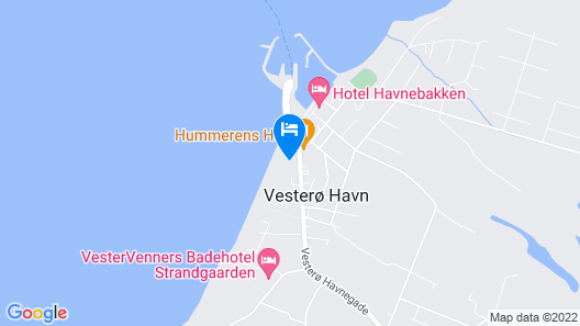Læsø Strand Map