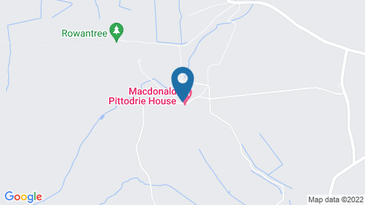 Macdonald Pittodrie House Map