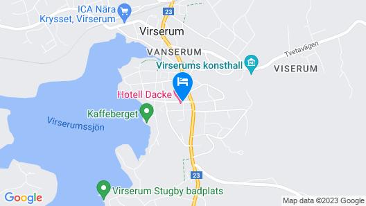 Hotell Dacke Map