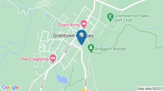 Garden Park Guest House Map
