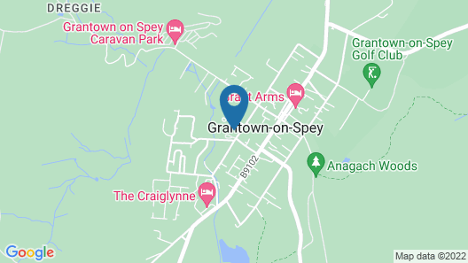 The Speyside Hotel Map
