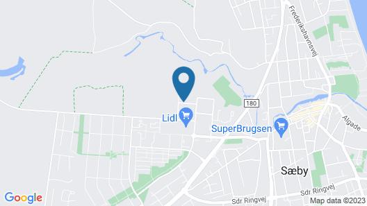 Sæby Spektrum & Hostel Map