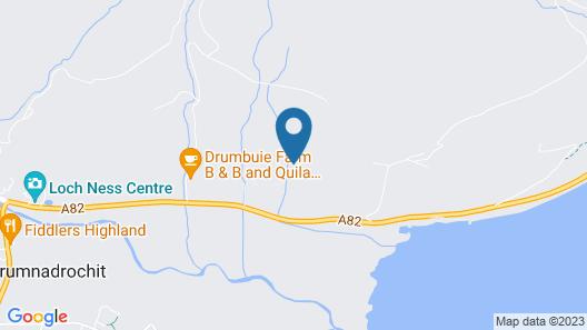2 Bedroom Cottage Near Loch Ness Map