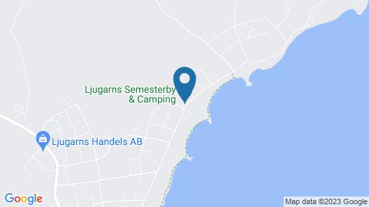 Ljugarns Semesterby & Camping Map