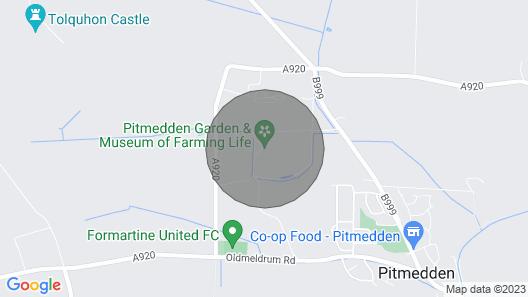 Beechgrove Cottage Map