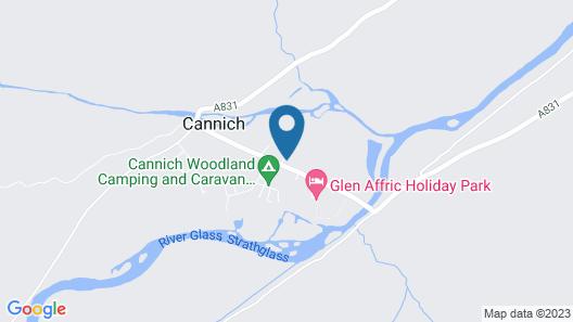 Glen Affric Holiday Park Map