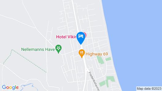 Hotel Viking Aqua, Spa & Wellness Map