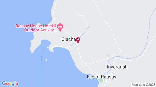Isle of Raasay Distillery Map