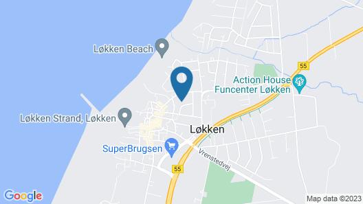 Hotel Løkken Strand Map