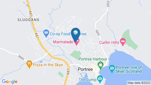 The Marmalade Hotel Map