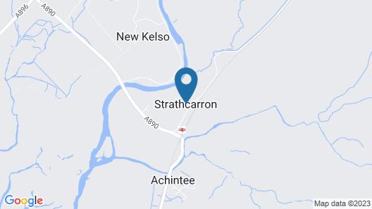 Strathcarron Hotel Map