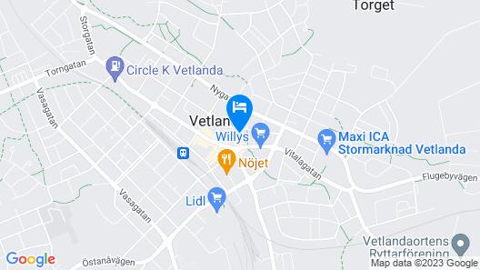 Best Western Vetlanda Stadshotell Map