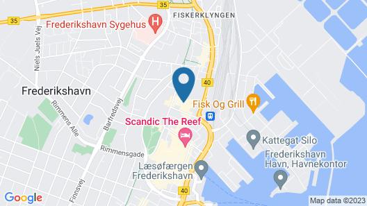 Herman Bang Bed & Breakfast Map