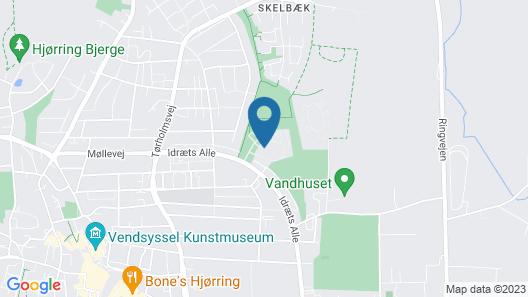 City Camping Hjørring Map