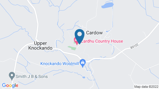 Cardhu Country House Map