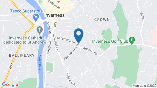 Crown Court Townhouse Hotel Map