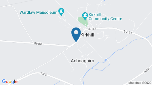Achnagairn Estate Map