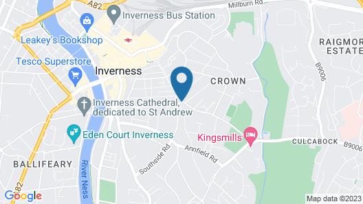 The Corriegarth Hotel Map