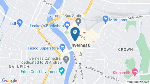 Mercure Inverness Hotel Map