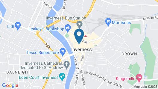 Waverley Guest House Map