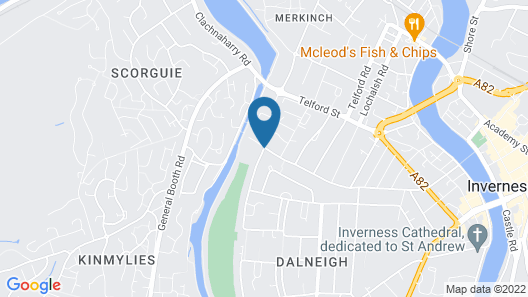 Trafford Bank Guest House Map