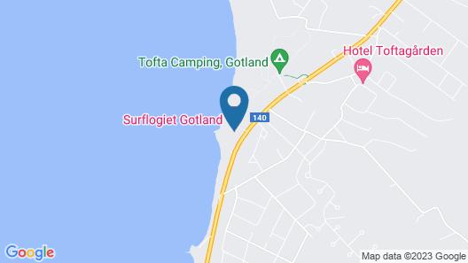Surflogiet Gotland Map