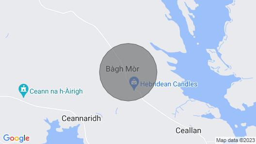 Beautiful accommodation in idyllic island setting Map