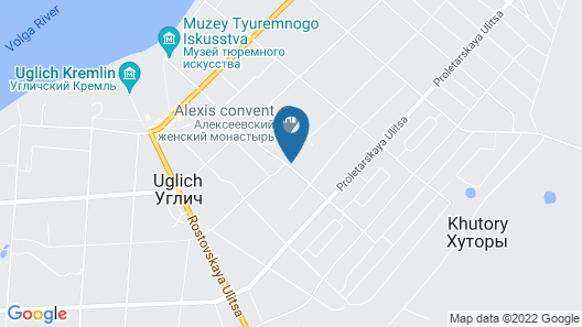 Volgskaya Riviera Hotel Map